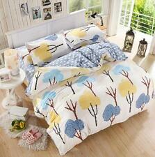 Rain Tree Single Double Queen King Size Bed Set Pillowcases Quilt Duvet Cover