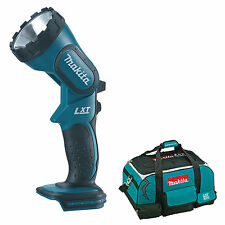 MAKITA 18V LXT BML185 BML185Z BML185RFE TORCH AND 4 PIECE TOOL BAG
