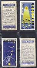 BROOKE BOND - OUT INTO SPACE (ISSUED IN) (NUMBERS 01-25) PLEASE SELECT YOUR CARD