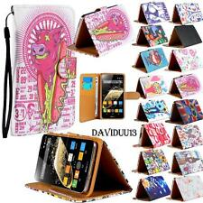 For Various Zopo Mobile Phones - Stand Leather Wallet Card Flip Folio Case Cover