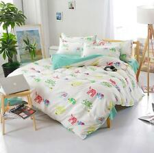 NEW Elephant Single Double Queen King Size Bed Set Pillowcases Quilt Duvet Cover