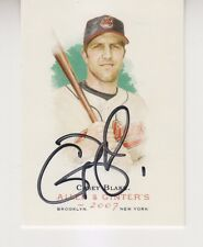 Casey Blake 2007 Topps Allen & Ginter #84 signed auto Indians
