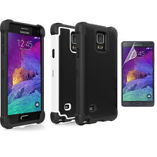 For Samsung Galaxy Note IV 4 Ballistic Tough Jacket SG Shell Gel Hard Case Cover