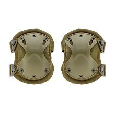 1Pair Outdoor Unisex Skate Safety Tactical Combat Protective Knee+Elbow Pads Set