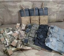 ATS Tactical Slimline Triple 7.62 Mag Pouch-Multicam-Coyote-Ranger