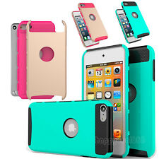 New Shockproof Hybrid Heavy Duty Matte Case Cover for Apple iPod Touch 5 6th Gen