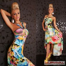 Womens Maxi Dress Size 8-10 Long Sexy Floral Cocktail Party Casual Summer Wear