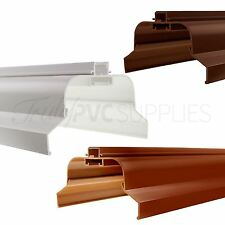 Ultraframe Conservatory Roof Ridge Cap UPVC & Timber Apex Top Cover