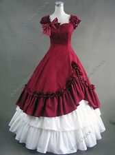 Southern Belle Victorian Westworld Gown Dress Theater Reenactment Clothing 208