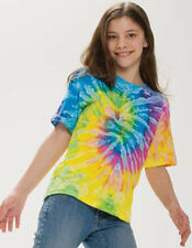 Tie Dye Youth Pigment Dyed T-Shirt Youth T Shirt