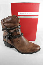 Marco Tozzi Women's Boots, Ankle Boots, brown, padded, RV NEW