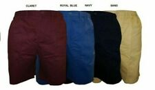 ESPIONAGE LONGER LENGTH COTTON SMART DRESS SHORTS(026) IN SIZE 2XL-8XL,4 COLORS