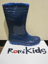 Romika Snow boots, Winter boots, Wellies, warm lining, blue PVC