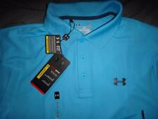 UNDER ARMOUR GOLF HEAT-GEAR UPF+30 POLO SHIRT L MENS NWT $54.99