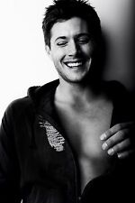 "Jensen Ackles Actor Star Fabric poster 20"" x 13"" Decor 04"