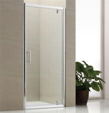 Shower Enclosure Cubicle Pivot Door. Various Sizes, Side Panel, Tray & Waste
