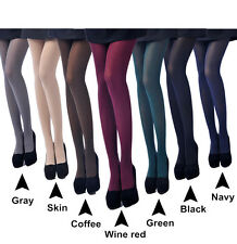 80D Opaque Footed Tights Sexy Women's Pantyhose Stockings Socks Multi-Color Lot