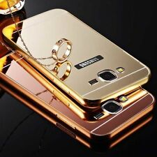 Luxury Aluminum Ultra Thin Mirror Metal Hard Back Case Cover For Samsung Models