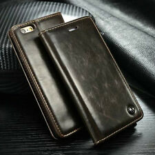Luxury Leather Case Magnetic Flip Card Holder Wallet Cover For Apple iPhone 6/6S
