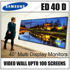 "SAMSUNG ED40D 40"" MULTI DISPLAY HD COMMERCIAL LED MONITOR SCREEN VIDEO WALL TV"
