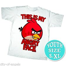 Angry Birds Youth Kids T Shirt Medium 100% Cotton