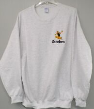 NFL Pittsburgh Steelers 1960's Logo Adult Embroidered Sweatshirt S-4X Brand New