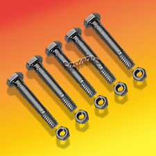 5 Pack Snow Blower Shear Pin with Nuts For MTD Snow Throwers With An Auger Drive