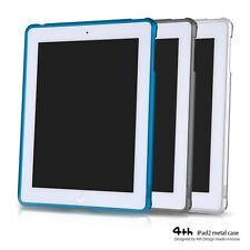 4thDesign Aluminum Metal Bumper Case Cover for iPad2 3rd Generation