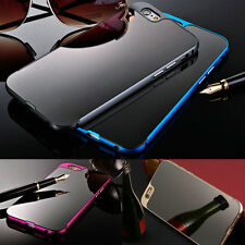 New Luxury Thin Metal Aluminum Mirror Back Case Bumper Cover For iPhone 6/6 Plus
