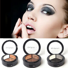 Chic 3 Colors Press Powder Eyeshadow Cosmetic Eye Shadow Nude Color Palette G21