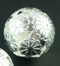 HOT 20pcs Silver/Gold/Copper Spacer Loose Beads Jewelry Findings 20mm Wholesale
