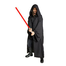 JEDI SITH Anakin Emperor Costume STAR WARS LORD Vader CLOAK adult Robe Black