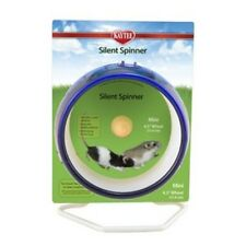 """Silent spinner wheel mini 4.5"""" dwarf hamster, mouse cage exercise toy"""