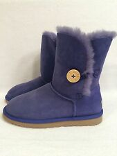 NEW UGG UGGS Australia 5803 Women's Bailey Button Royal Blue NAVY purple SZ 8