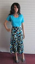 New Simply Be Being Casual 2 Piece Top and Skirt Set Size 16 UK  Turquoise Black