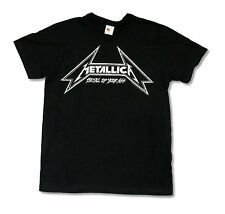 "METALLICA ""METAL UP YOUR ASS"" BLACK SLIM FIT T-SHIRT NEW OFFICIAL ADULT"