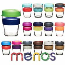 KeepCup Brew Reusable Glass Coffee Cup - All Latest Sizes and Colours Keep Cups