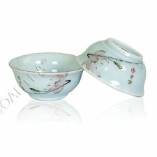 45ml GongFu Tea Porcelain Ceramic JingDe Chinese Lotus Lightgreen teacup tea Cup