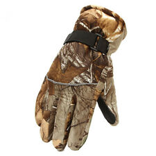 Winter Full-finger Bionic Professional Waterproof Camouflage Hunting Gloves