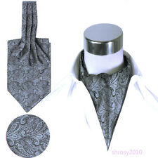 Fashion Mens Long Cravat Suit Scarf Elegant Neckerchief Neck Tie New BJC0014