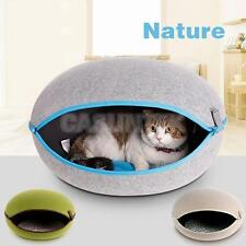 Pet Bed Warm Dog Cat Nest Bed Fashion Cave Puppy Cushion Kennel 3 Colors