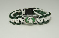 "MICHIGAN STATE ""SPARTANS"" paracord bracelet"