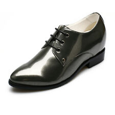 Height Increasing Shoes Inserts Dress Oxfords Womens Elevator Shoes CHAMARIPA