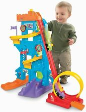 NEW Little People LoopsSwoops Amusement Park Fisher Price Exclusive Wheelies
