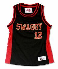 """JUSTIN BIEBER SWAGGY """"MIAMI HEAT"""" BASKETBALL JERSEY SHIRT NEW NWT YOUTH KIDS"""