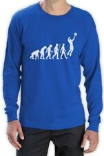 Volleyball Evolution Funny Volleyball Player Evolution Long Sleeve T-Shirt Gift