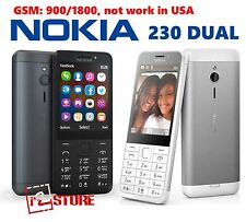 Mobile Phone Nokia 230 Dual SIM Unlocked FM MP3 Opera Mini aluminum GSM 900/1800