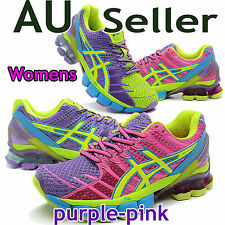 ASICS GEL KINSEI 4 WOMENS purple-pink / Limited Edition / Running Shoes