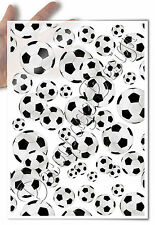 Decoupage Paper • soccer balls white background • for mod podge decopatch napkin