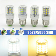 1x LED Corn Bulb 2W/3W Lamp E27/E14/G9 48/60 3528 27/30 5050 SMD Light Cover New